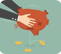 Kan pensionen gå upp i rök vid en kraftig börskrasch?
