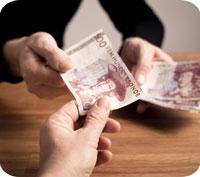 Du kan fortfarande växla in gamla sedlar!