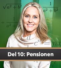 Compricers ekonomiskola del 10: Pensionen